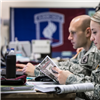 Soldiers from the 173rd Brigade support Exercise ARRCADE FUSION