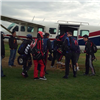 HQ ARRC Soldier skydives for charity